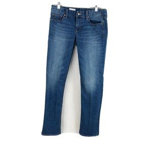 Gap 1969 Real Straight Jeans Medium Wash Mid Rise
